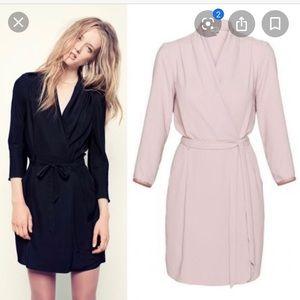 Aritzia Wilfred Franca Wrap Dress